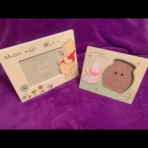 Disneys Winnie The Pooh Picture frames